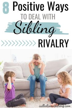 Implement these 8 strategies for positively handling sibling rivalry and conflict, to help your kids stop fighting and start getting along! Preschool Activities At Home, Homeschool Preschool Curriculum, Sensory Activities Toddlers, Bonding Activities, Positive Parenting Solutions, Parenting Advice, Raising Godly Children, Raising Kids, Math Competition