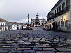 Praça Tiradentes - Ouro Preto