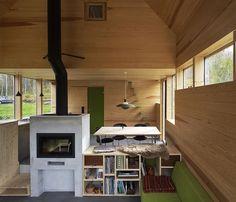 "Tiny Houzz on Instagram: ""50 sqm Cabin Laksvatn, Tromsø, Norway by Hamran/Johansen Arkitekter. Photos by Ivan Brodey, André Severin Johansen. Visit @TinyHouseMag for more images #interiors #interiordesign #architecture #decoration #interior #home #design #photogrid #bookofcabins #homedecor #decoration #decor #prefab #smallhomes #instagood #compactliving #fineinteriors #cabin #tagsforlikes #tinyhomes #tinyhouse #like4like #FABprefab #tinyhousemovement #likeforlike #houseboat #tinyhouzz"