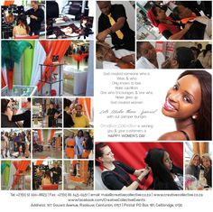 Woman's Day Celebration - Book Creative Collective for all your Events & Activations requirements Follow us on FB for updates & view our albums for photos of past events & activations https://www.facebook.com/CreativeCollectiveEvents