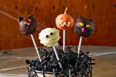 Cookie balls are famously easy-to-make treats—and these monster versions for Halloween are, too. They will be the new favorite at your Halloween bash!