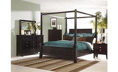 Martini Suite Poster Bedroom Set - Ashley Furniture