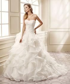 lovely ballgown Eddy K wedding dress