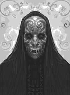 yearoftheknife: xombiedirge: Harry Potter Concept Art: Death Eaters by Rob Bliss oh f-fuck */////*