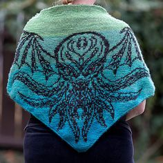 Ravelry: The Great Old One, Cthulhu pattern by Tania Richter