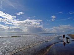 Caminhada na praia de Santo Antonio - Ba