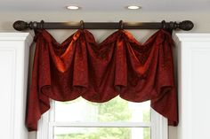 This is a cute valance for the Kitchen! www.shopFDI.com