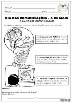 SOS PROFESSOR-ATIVIDADES: Dia dos Meios de Comunicação