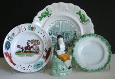 Group of Staffordshire Pearlware Early 19th Century