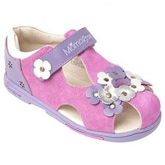 07856995f Momo Grow Toddler Little Kid Pansies Leather Sandal Shoes  zulily  momogrow   momobaby