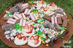Party Platters, Food Platters, Dessert Platter, Dessert Tables, Possum Magic, Magic Birthday, Aussie Food, Magic Party, Party Finger Foods