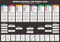 Football Cup Russia 2018 Schedule 3