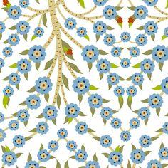 Tree of Life 736a fabric by muhlenkott on Spoonflower - custom fabric