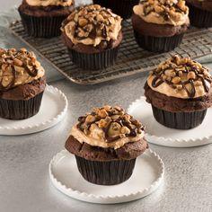 Petits gâteaux au chocolat et au beurre d'arachide