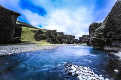Fjaðrárgljúfur © Klaus A. Weber — in Iceland.