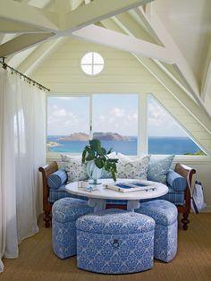 Coastal Blue Loft -