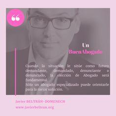 """Javier Beltrán-Domenech es abogado del Ilustre Colegio de la Abogacía de Alicante desde 1995. Selecciona personalmente los casos de su Despacho y, por la experiencia acumulada desde hace más de 26 años, se ha convertido en un """"solucionador de problemas"""" gracias al análisis previo y la estrategia aplicable al caso."""