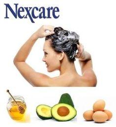 ¿Tienes el cabello maltratado por la secadora, la plancha o los tintes?    ¡Aguacate, miel y yemas de huevo!  En un recipiente mezcla 1 aguacate, un poco de miel de abeja y una yema de huevo, revuélvelo muy bien y ponlo en tu cabello seco durante 30 minutos. Pasado este tiempo enjuaga tu cabello. Este es uno de los tratamientos para el cabello maltratado que te dará brillo, y lucirás espectacular. by obdulia.mendozaandrade