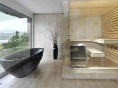 Badkamers voorbeelden met vrijstaand bad More