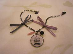 Bracelet ... cage à oiseaux ... matières premières Suppléments d'âme ...