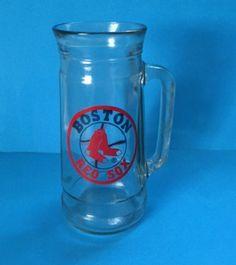 Boston Red Sox Mug Stein Tankard MLB Baseball Sports Tall Ale Glass #Unbrnded