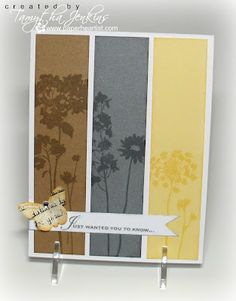Card created by Tamytha Jenkins using Treasure Life and Card Chatter stamps.