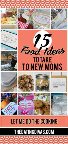 Food Ideas for New Moms