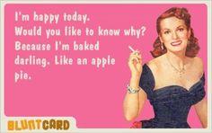 Blunt cards.  Ha!