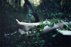 vat triptych 9 by ~EzoRenier on deviantART on We Heart It Dark Fantasy, Skyrim, Half Elf, Poison Ivy Costumes, Poison Ivy Batman, The Ancient Magus Bride, Ivy Plants, Foto Art, Triptych