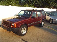2000 Jeep Cherokee Sport, Wyoming