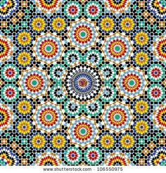 Free Moroccan Patterns | Razil Morocco Pattern Stock Vector 106550975 : Shutterstock