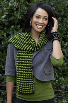 Caron International   Simply Soft Party Free Project   Sparks Fly Scarf. Free Pattern.