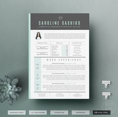 resume template cv template cover letter for von oddbitsstudio
