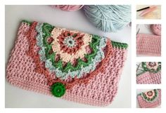 Have a difficulty finding a phone case? If that's you, you can consider making a fancy crochet phone case with this Phone Case Free Crochet Pattern.