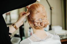 Laura Donea and Christopher Lock married at the Royal Berkshire Hotel in Ascot under the 15 person rule for weddings. Click the link to view the full wedding album! Wedding Album, Wedding Updo, Bridal Hairstyles, Pretty Hairstyles, Ascot, Weddings, Hair Styles, Link, Hair Plait Styles