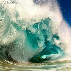 Powerful nature, powerful water!