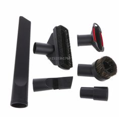 6 In 1 Vacuum Cleaner Brush Nozzle Home Dusting Crevice Stair Tool Kit 32mm 35mm #C05#