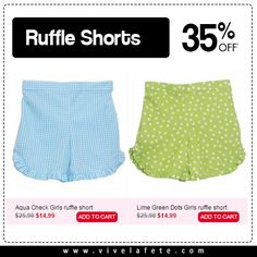Ruffle Shorts https://www.vivelafete.com/catalogsearch/result/?q=gs501