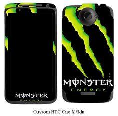 Monster Energy HTC One X Vinyl Skin