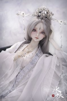 60 cm GIRL OUTFIT 62cm youth ancient Chinese clothing snow A-STUDIO  Dolk Station - Online bjd shop