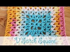 10 Free Projects Featuring the V-Stitch Pattern Video Crochet Patterns - Free Crochet Tutorials