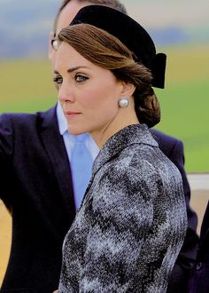 Catherine, Duchess of Cambridge, attends The Battle of Somme Centenary Commemorations at the Thiepval Memorial on June 30, 2016 in Albert, France.