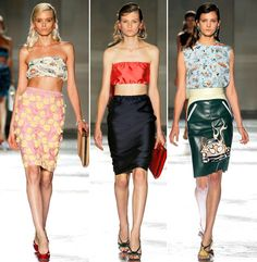 Prada's Spring Summer 2012 Collection drives me insane!! I love how the prints and colours come together so beautifully and whimsically!