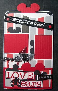 A Project by disneydreamers from our Scrapbooking Gallery originally submitted 03/26/06 at 10:03 AM