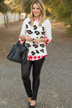 Leopard & Plaid