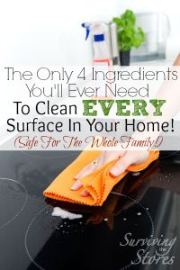 The Only 4 Natural Ingredients You'll Ever Need For A Clean Home