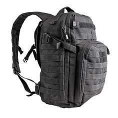 8baf3aab5e2 Durable black RUSH 12 backpack is on sale now at the UK based online store.