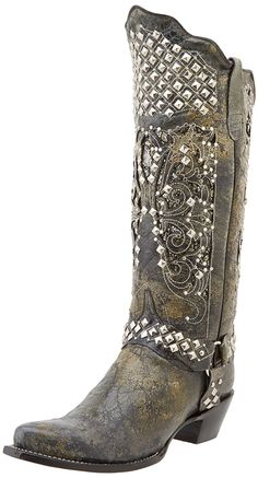 Ferrini Women's Country Rebel Western Boot * Tried it! Love it! Click the image. : Boots Shoes