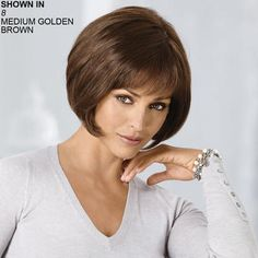 Comfort Wig by Heart of Gold is a supremely comfortable classic bob-style wig.