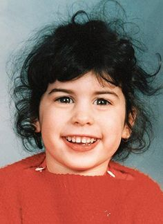 Amy Winehouse at 8 years old.
